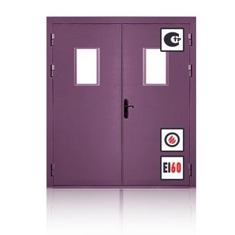 стальная дверь с шумоизоляцией и противопожарном исполнении