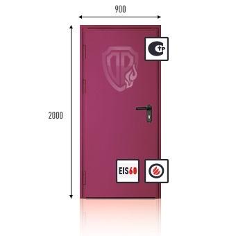 двери противопожарные стальные 1900 на 900 москва