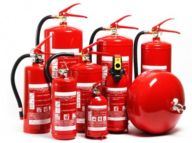 Выбор огнетушителя