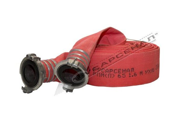Пожарные рукава типа Латекс 65мм с головками