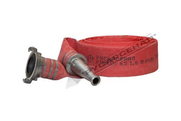 Пожарный рукав типа Латекс 65 мм с ГР и РС