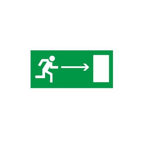 E 03 Направление к эвакуационному выходу направо