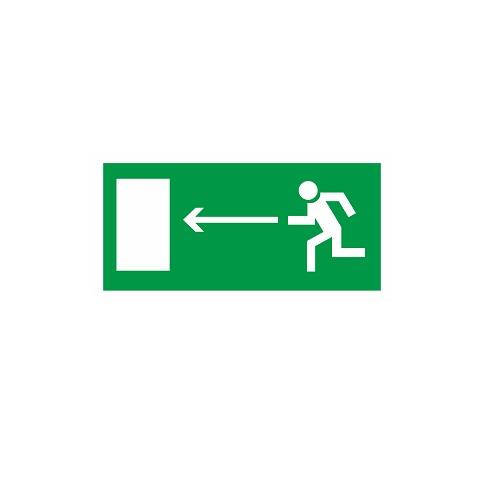 E 04 Направление к эвакуационному выходу налево