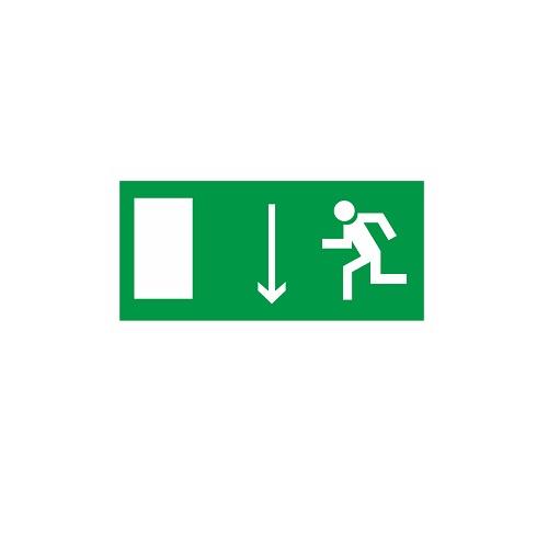 E 10 Указатель двери эвакуационного выхода (левосторонний)