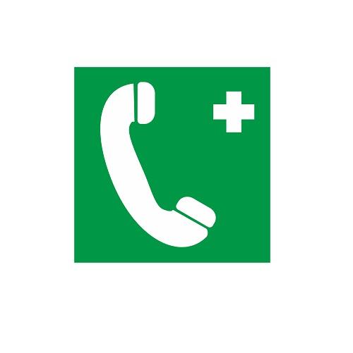 EC 06 Телефон связи с медицинским пунктом (скорой медицинской помощью)