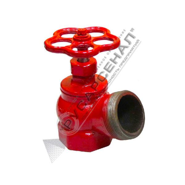 Клапан Ду-50 чугун угловой 125° КПК-50