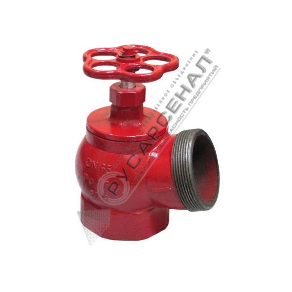 Клапан Ду-65 чугун угловой 125° КПК-65