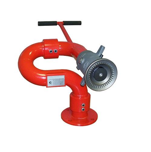 Лафетный ствол пожарный ЛС-С40У