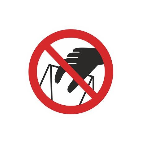 P 33 Запрещается брать руками. сыпучая масса. непрочная упаковка