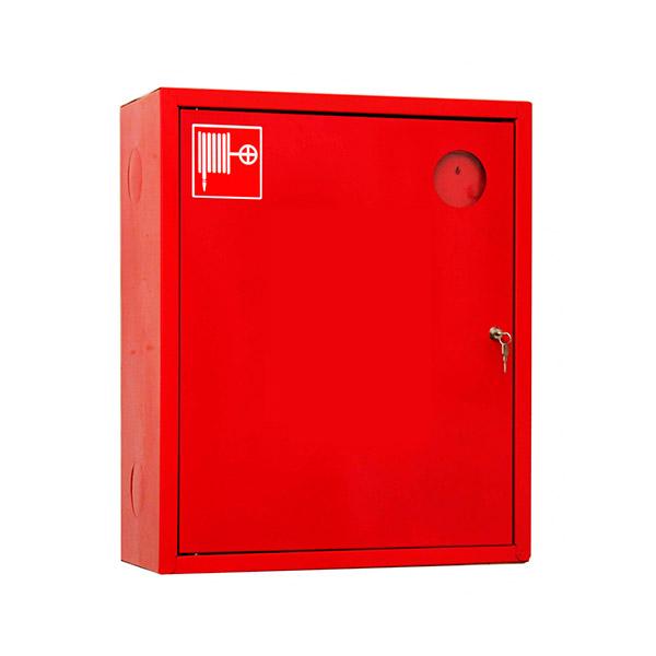 Шкаф пожарный навесной ШПК 310 навесной закрытый красный