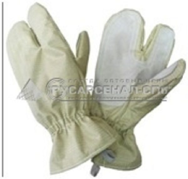 Перчатки трехпалые ткань «ТТОС»