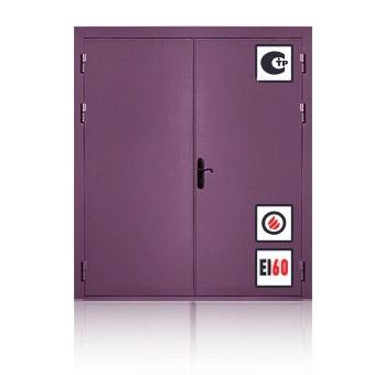 Металлическая противопожарная дверь ЕI2-60
