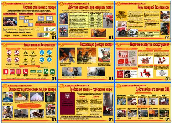 Плакаты Охраны труда